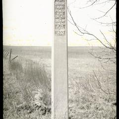 Green Bay Road markers