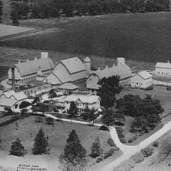 Keystone Farms, Genesee, aerial