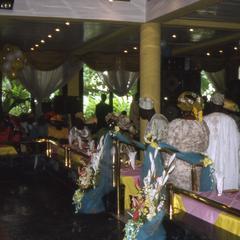 Apara wedding reception guests