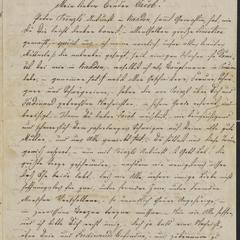 [Letter from Ludwig Sternberger to his brother, Jakob, December 15, 1864]