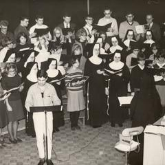Choir practice, Manitowoc, December 1966