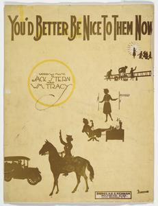 'You'd Better Be Nice to Them Now' sheet music