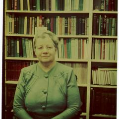 Frances L. Zuill, associate dean of the school of home economics
