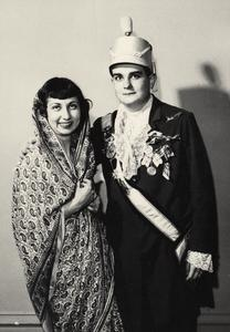 International Club costume ball, 1951