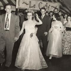 """Grand march, """"April in Paris,"""" Manitowoc, April 26, 1952"""