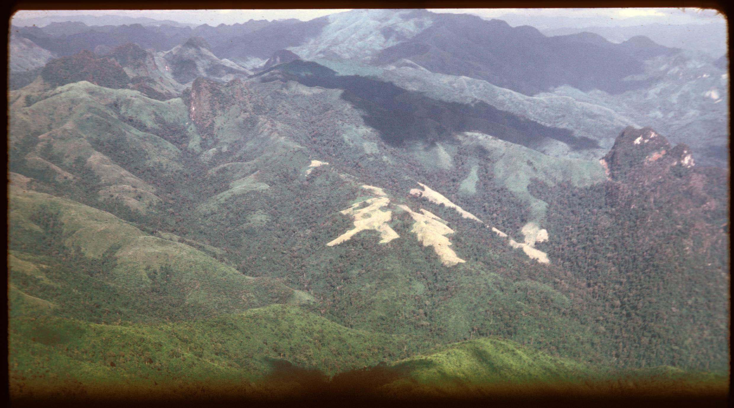 Muang Kasy approach--air views