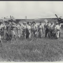 Guerrillas who fought the Japanese, Mindanao, 1945