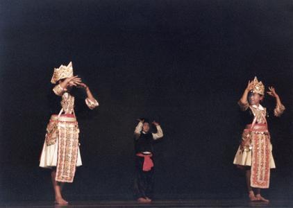 Traditional Hmong dance at 1995 MCOR