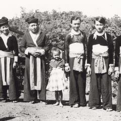 White Hmong family in Houa Khong Province