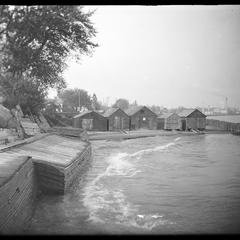 Bather's Bay and boathouses
