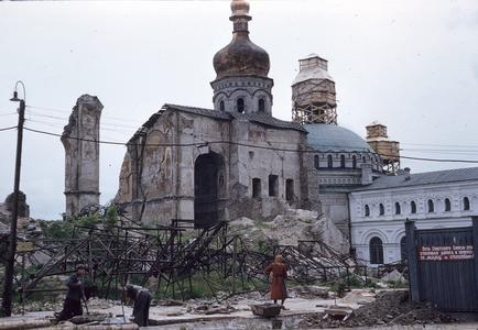 Dormition Cathedral remains