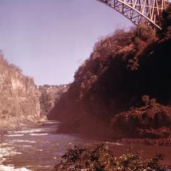 Bridge Over First Gorge at Victoria Falls
