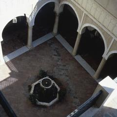 Looking Down on Two Levels of the Serai al-Hamra