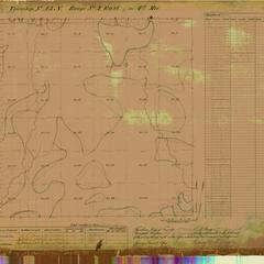 [Public Land Survey System map: Wisconsin Township 43 North, Range 02 East]