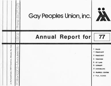 Annual report for 1977
