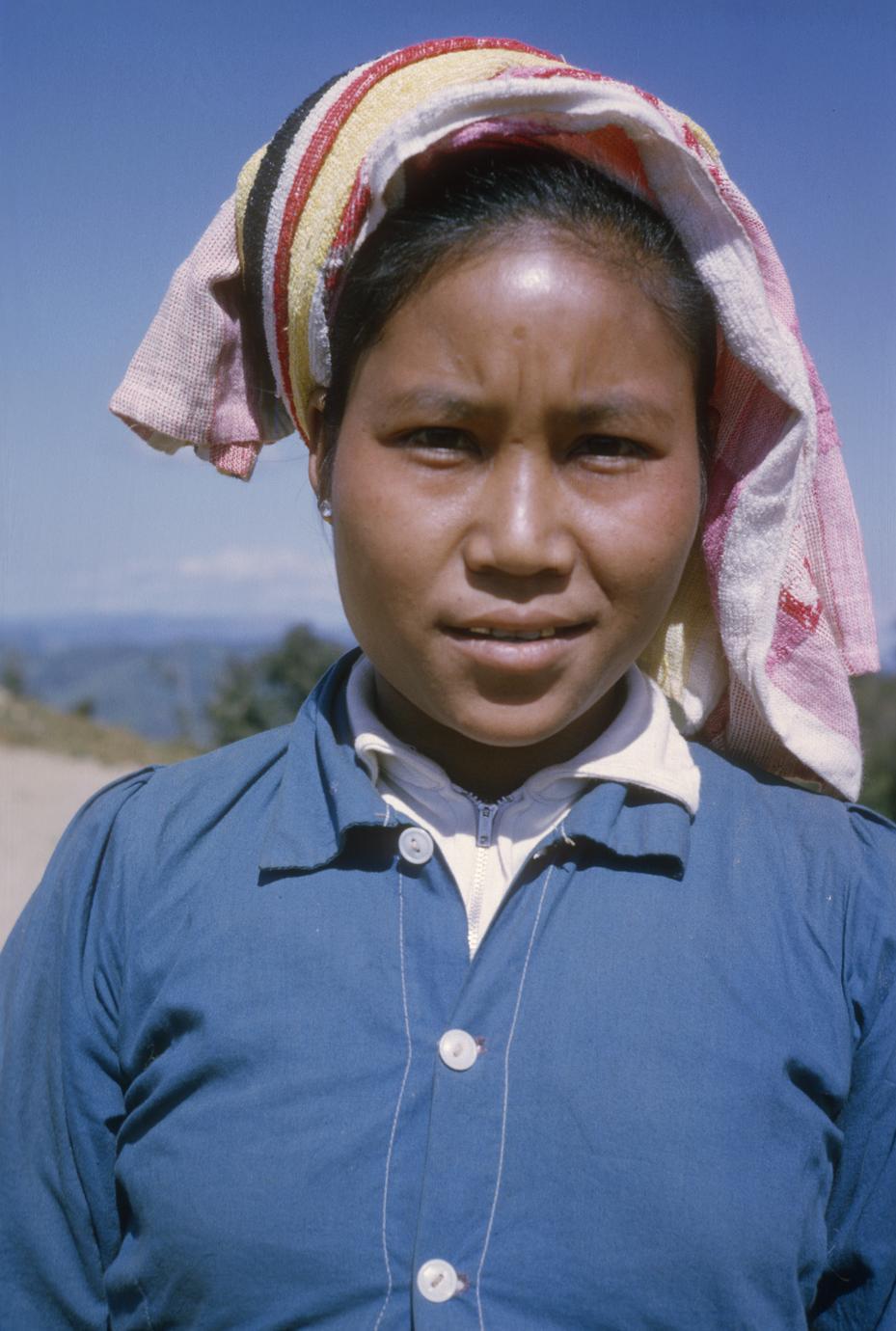 Ethnic Khmu' soldier's wife