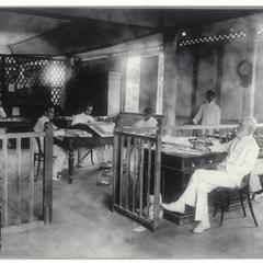 Provincial Treasurer's office, Dumaguete, 1900-1905