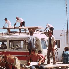 Bus Being Loaded after the Suq (Market)