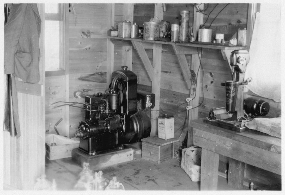 Trout Lake lab equipment