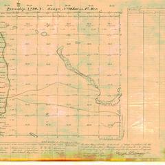 [Public Land Survey System map: Wisconsin Township 20 North, Range 10 East]