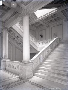 Marble stairs, Wisconsin State Historical Society