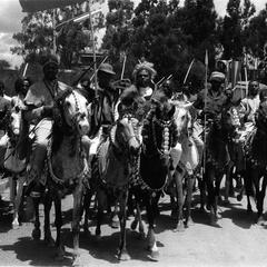 Oromos on Horseback at Celebration