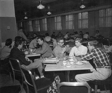 Milwaukee Extension Division Cafeteria, 1954