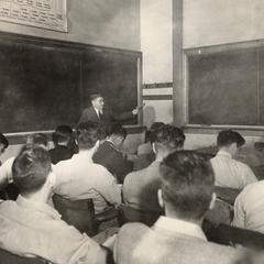 Farrington Daniels in the classroom
