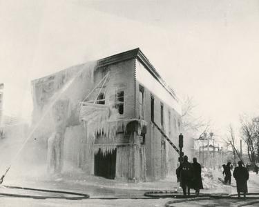 Tuchscherer Shoe Store fire