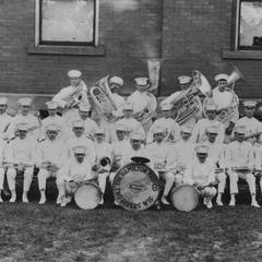 The first band sponsored by Hamilton Manufacturing Company