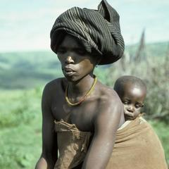 People of South Africa : Xhosa mother and child