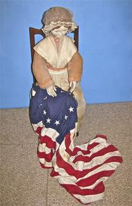 Three dimensional Betsy Ross
