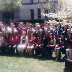 2002 UW-Madison Undergraduate Excellence Award recipients