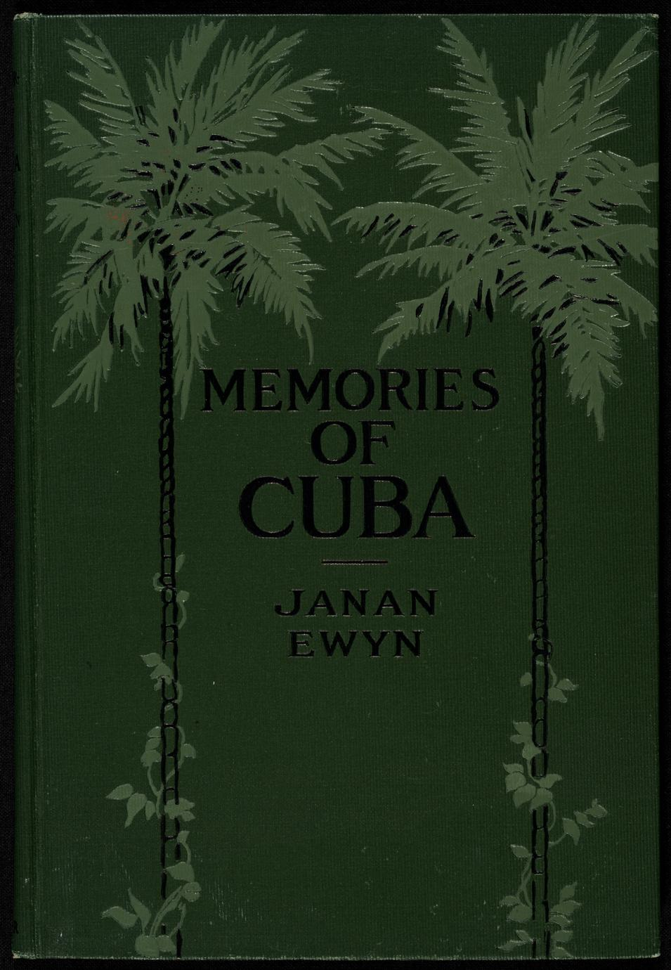Memories of Cuba and other poems (1 of 3)