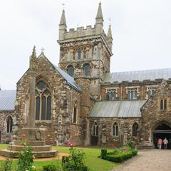 Wimborne Minster from the northwest