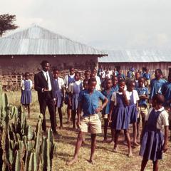 Kipsigis School (Lelaitich School) near Kapsabul Village