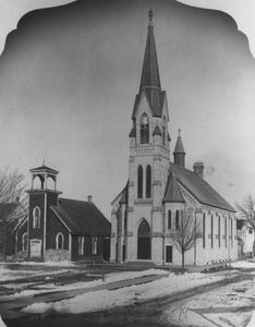 The new St. John's Lutheran Church