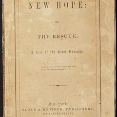 New hope ; or, The rescue : a tale of the Great Kanawha