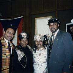 Visiting 1994 Black History Month display
