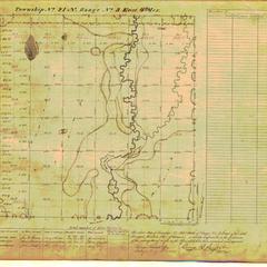 [Public Land Survey System map: Wisconsin Township 21 North, Range 03 East]