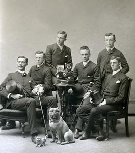 Fraternity Beta Theta Pi, 1885-1889
