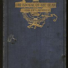 The bivouac of the dead and its author