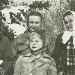 Ednah Shepard Thomas and her children