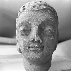 NG475, Stucco Head of Buddha