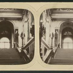Palais de St. Cloud, Escalier d'honneur