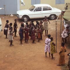 Children at the Fatahunsi funeral