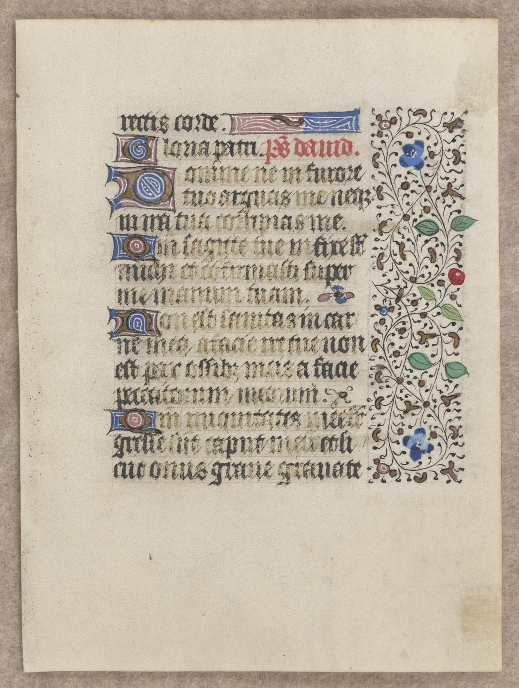 [Book of Hours] (1 of 2)