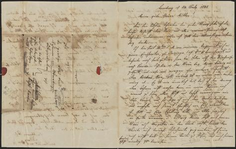 [Letter from Ludwig Sternberger to his mother, Johanna Sternberger, July 24, 1848]