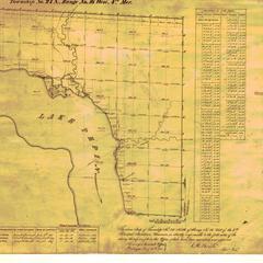 [Public Land Survey System map: Wisconsin Township 24 North, Range 16 West]