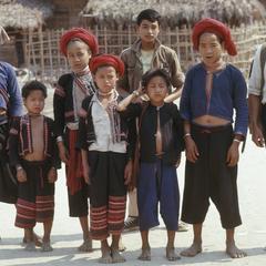 Lahu men and boys